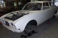 Restauration Coupé Peugeot 504 Pinifarina